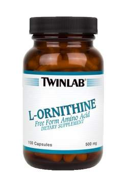 Twinlab L-Ornithine 500 mg 100 caps