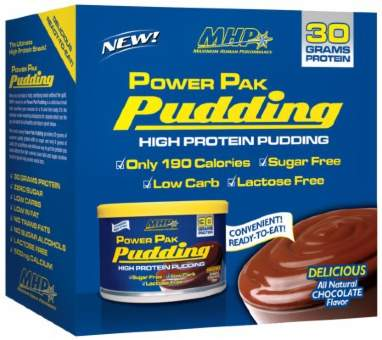MHP PowerPack Pudding 6 банок 255 гр
