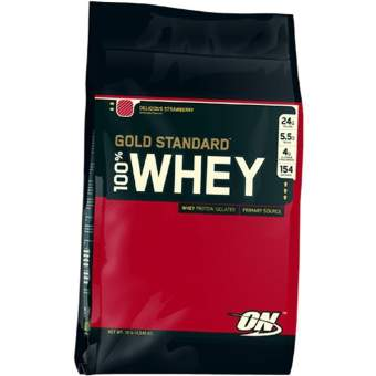 Optimum Nutrition 100% Whey protein Gold standard 4545 гр.