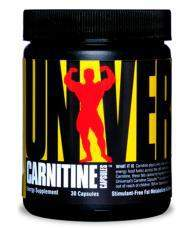 Universal Nutrition Carnitine 30 капс