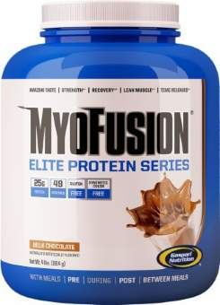 Gaspari Nutrition MyoFusion Elite 1814 гр / 4lb / 1.8 кг
