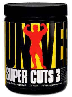 Universal Nutrition Super Cuts 3 130 таб