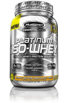 Muscletech Essential 100% Iso Whey 1.76 lb / 812 гр