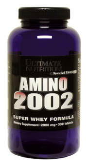 Ultimate Nutrition Amino 2002 330 таб