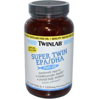 Twinlab Super Twin EPA/DHA 100 softgels