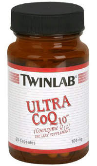 Twinlab Ultra Co Q10 100 mg 60 caps