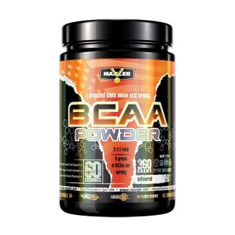 Maxler BCAA Powder 360 гр / 60 порций / без вкуса