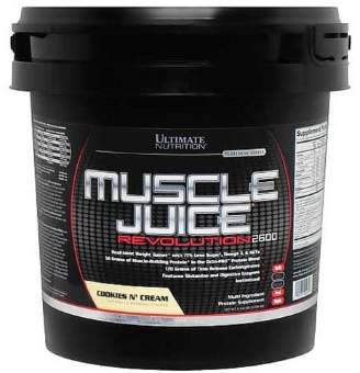 Ultimate Nutrition Muscle Juice Revolution 2600 5040 гр / 11.10lb / 5.04 кг
