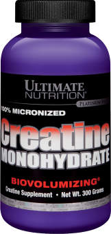 Ultimate Nutrition 100% Micronized Creatine Monohydrate 300г