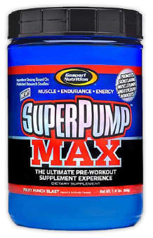 Gaspari Nutrition Super Pump max 250 640г