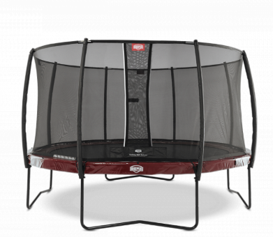 Батут Berg Elite + Red 430 + Safety Net Deluxe
