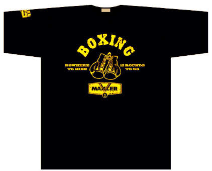 Maxler Футболка рис: Бокс ( Maxler T-Shirt Boxing )